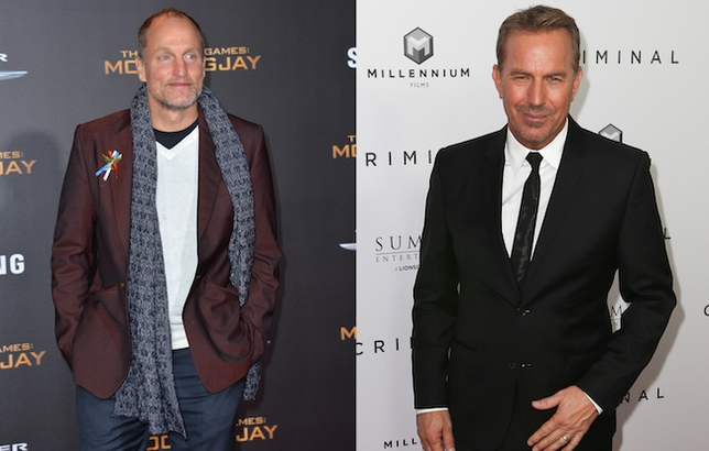 Woody Harrelson and Kevin Costner Will Go Hunting for Bonnie and Clyde on Netflix