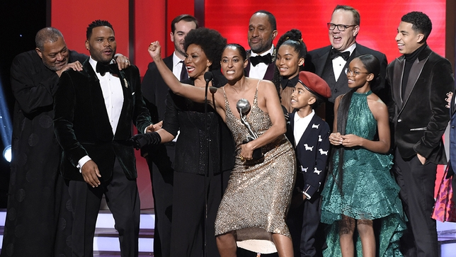 'Black-ish' wins 3 statuettes at NAACP Image Awards