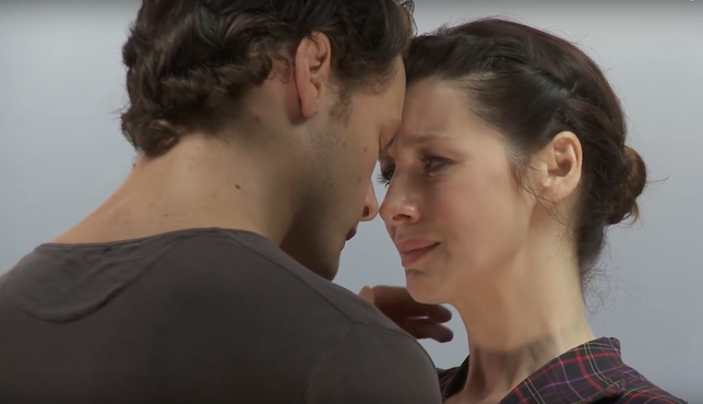 Watch the Audition Tape That Solidified the Two Leads in 'Outlander'