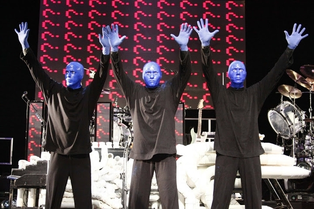 L.A. Now Casting: Blue Man Group Wants You to Show Your True Colors for $1,000 a Week