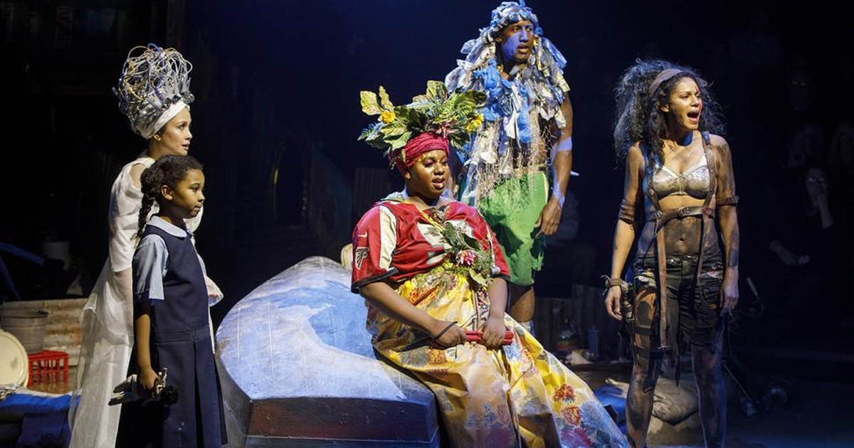 Once On This Island Broadway  Auditions