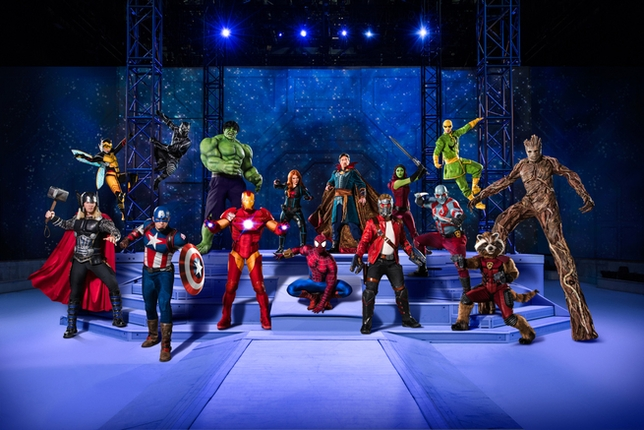 Join the 'Marvel Universe LIVE!' National Tour as a Performer