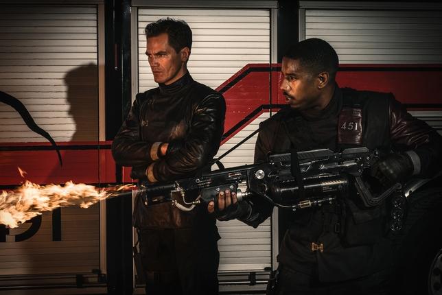 WATCH: Michael B. Jordan in Blazing Trailer for HBO's 'Fahrenheit 451'