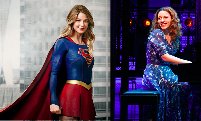 'Supergirl' Star Melissa Benoist Is the New Carole King + More Theater News