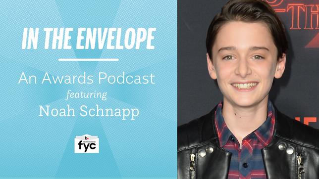 'In the Envelope' Podcast: Noah Schnapp of 'Stranger Things' on Balancing Fame & Homework
