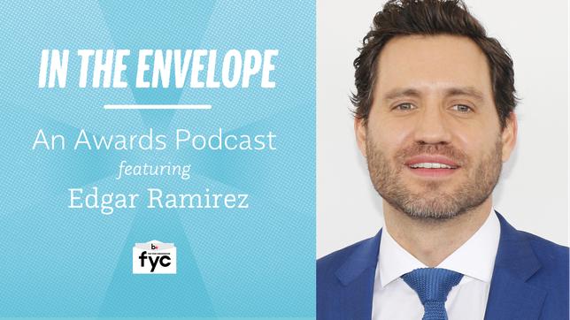 'In the Envelope' Podcast: Edgar Ramirez Studies Up for 'The Assassination of Gianni Versace'