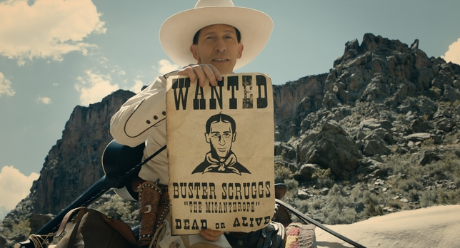 The Coen Brothers Swagger Into Netflix With 'The Ballad of Buster Scruggs'