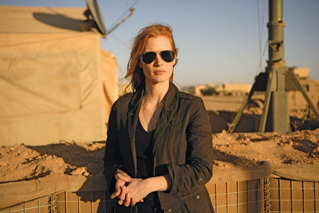 Jessica Chastain Says Her Role in 'Zero Dark Thirty' Is Her Toughest Yet