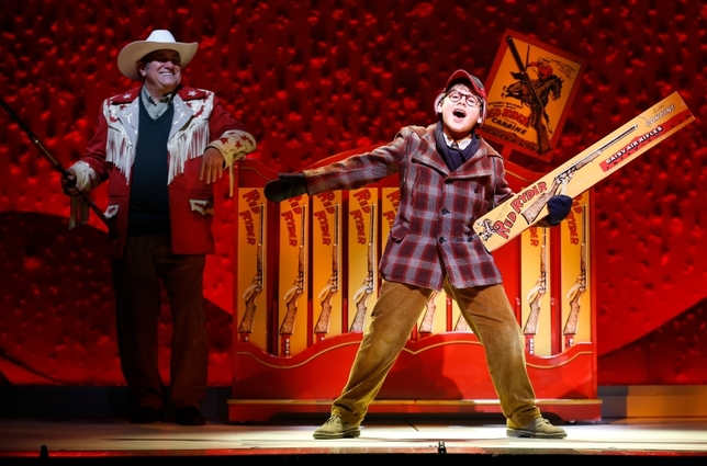 'A Christmas Story: The Musical' Doesn't Need to Sing but You Don't Mind