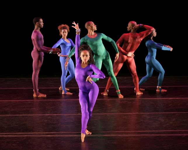 Alvin Ailey American Dance Theater Delights at City Center