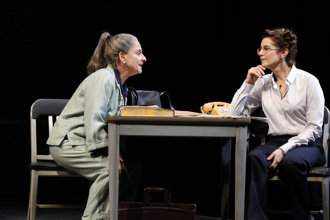 Mamet's 'The Anarchist' Is a Droning Essay Brought to Unnatural Life