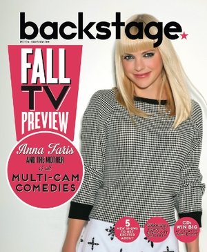 Anna Faris On the Cover of Backstage This Week!