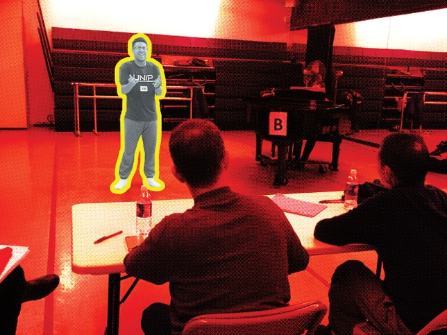 Behind the Scenes at UCLA's Theater Auditions