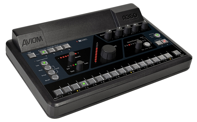 Aviom A360 Is a Portable, Programmable Mixer for Any Venue