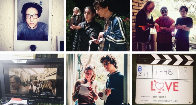 Backstage Life With Paul Rust on 'Love'