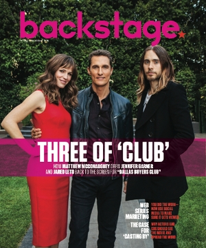 Matthew McConaughey, Jennifer Garner and Jared Leto On the Cover of Backstage This Week!