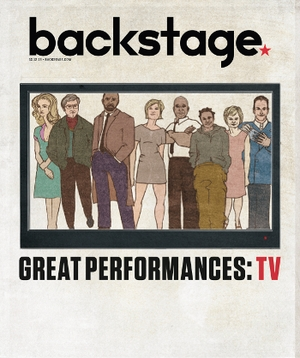 Great TV Performances of 2013 On the Cover of Backstage This Week!