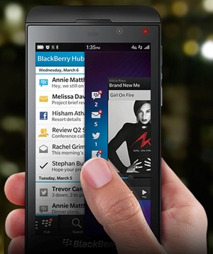 New BlackBerry Devices Are Slightly Behind