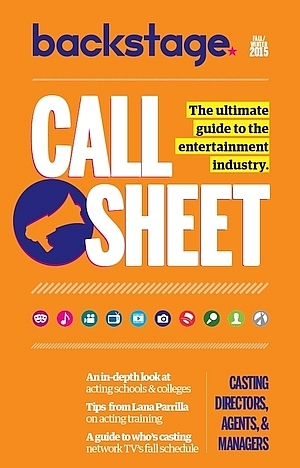 New in Call Sheet: Entertainment Industry Contacts & Resources