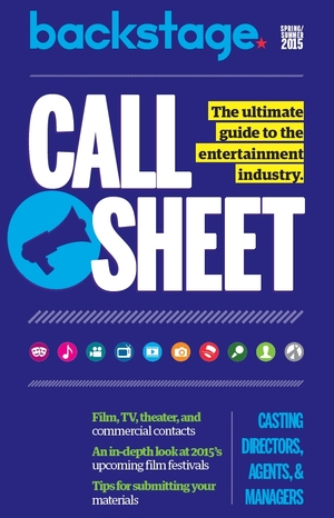New in Call Sheet: Agents, Managers, Casting Directors, and Production Companies