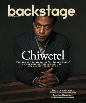 Chiwetel Ejiofor On the Cover of Backstage This Week!