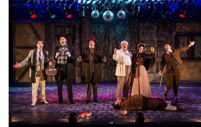 'A Christmas Carol: Twist Your Dickens' Spreads Holiday Cheer