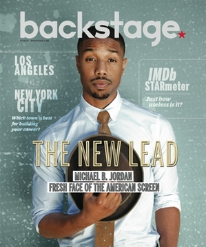 Michael B. Jordan On the Cover of Backstage This Week!