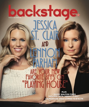 Lennon Parham & Jessica St. Clair On the Cover of Backstage This Week!