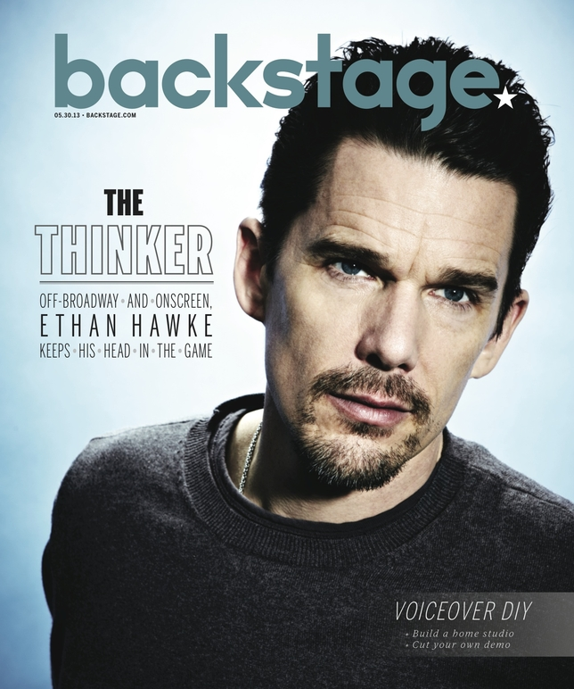 Ethan Hawke On the Cover of Backstage This Week!