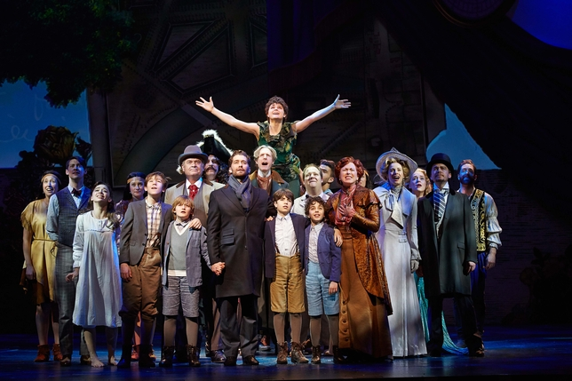 'Finding Neverland' Is Taking Over Backstage's Instagram This Thanksgiving!