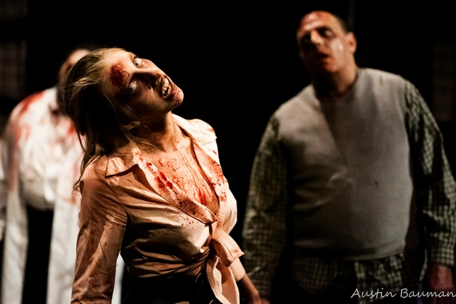 Maverick Theater Puts 'Night of the Living Dead' Onstage With Ghoulish Results