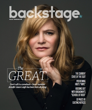 Jennifer Jason Leigh Is at the Top of Her Game