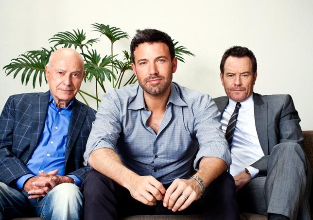 Ben Affleck, Bryan Cranston, Alan Arkin Talk 'Argo'