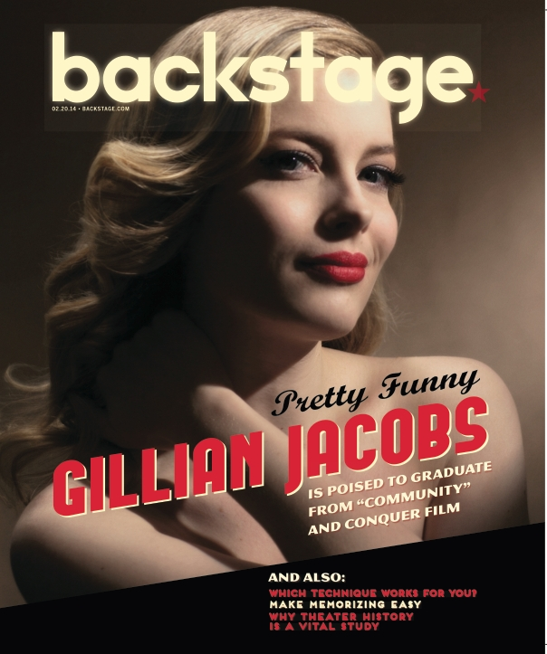 Gillian Jacobs On the Cover of Backstage This Week!