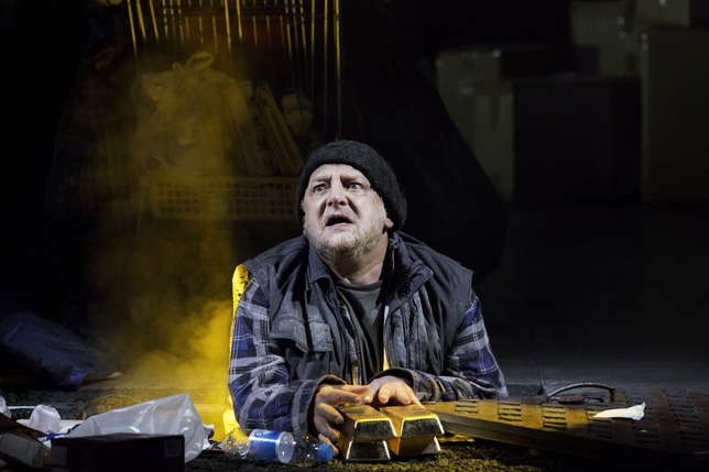 Simon Russell Beale Is Electric in 'Timon of Athens'