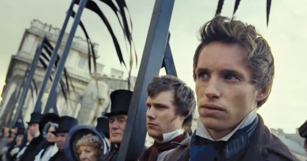 Eddie Redmayne Self-Taped His Audition for 'Les Misérables'
