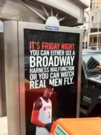 Broadway Actors Are Not 'Real Men,' Suggests Ad