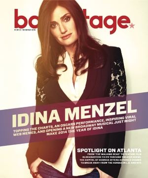 Idina Menzel on the Cover of Backstage This Week!