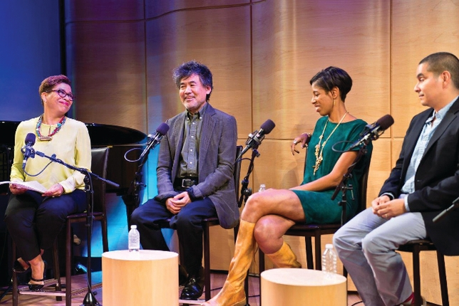 4 Playwrights and 1 Radio Host Question Broadway's Diversity