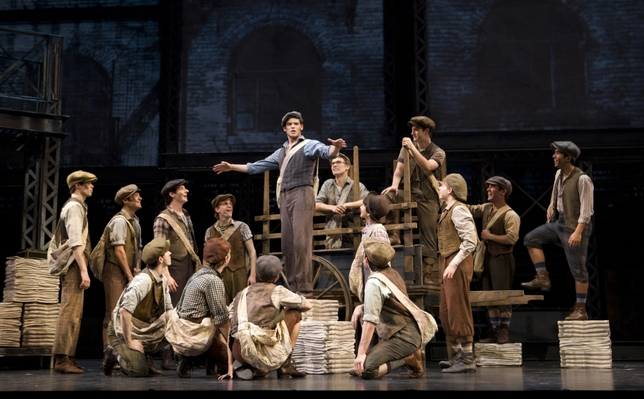 Nationwide Audition Tour Announced for 'Newsies' Broadway Musical