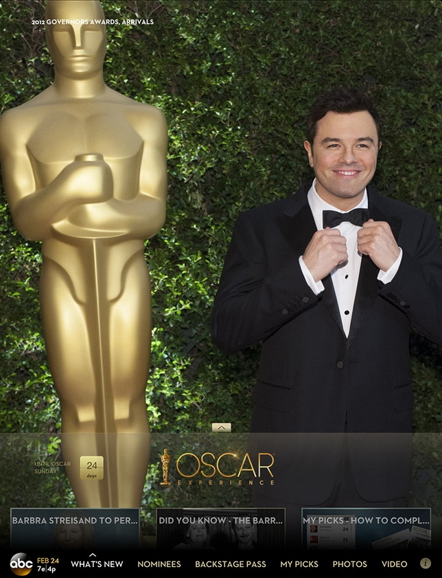 Follow Awards Season With the Oscars Mobile App