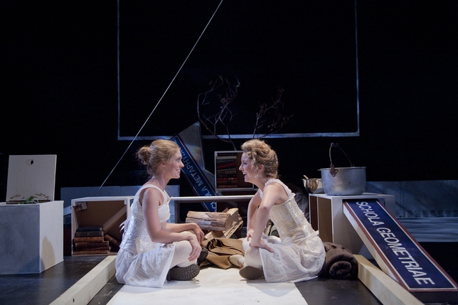 Everything That Is the Case for Two Young Women on the Eve of the Great War Among Other Elegant Lies