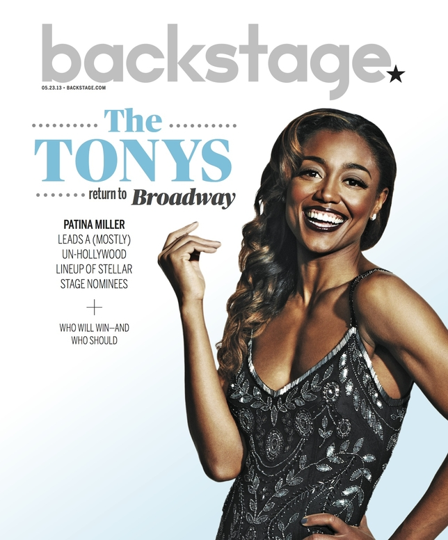 Patina Miller on the Cover of Backstage This Week!