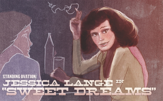 Standing Ovation: Jessica Lange in 'Sweet Dreams'