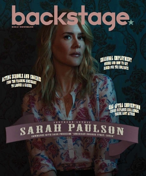 Sarah Paulson On the Cover of Backstage This Week!