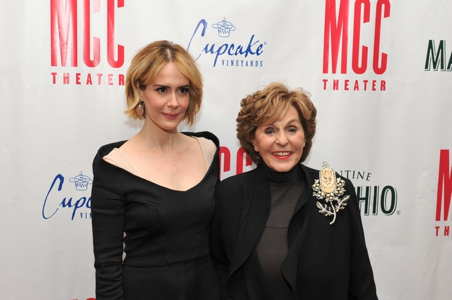 MCC Theater's Miscast Gala 2015 Honors Sarah Paulson and Fran Weissler