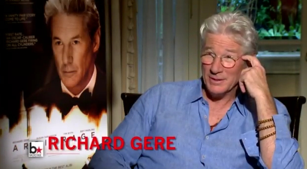 Richard Gere On How He Approached 'Arbitrage' (Video)