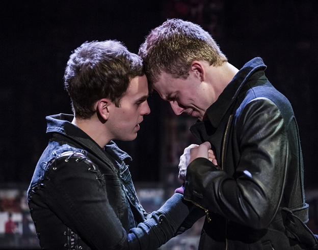 'Bare' Stars Taylor Trensch and Jason Hite On Bullying and Rock Musicals