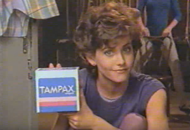 WATCH: Courteney Cox's Super '80s Tampax Commercial ...