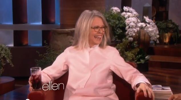 Diane Keaton Proves She's La-Di-Da-Drunk on 'Ellen'